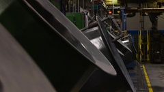 Industrial Setting Stock Footage