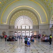 WASHINGTON D.C.,USA - AUGUST 17,2016 : The interior of Union Station, the histor Kuvituskuvat