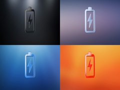 Charge 3d Icon Stock Footage