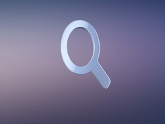 Search Silver 3d Icon Stock Footage
