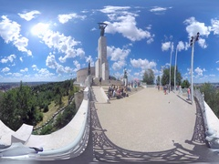 Citadella viewpoint 360° video Stock Footage