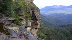 Katoomba Falls Blue Mountains Australia  Stock Footage