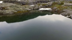 Rocks. Mountains. Norway. Stock Footage