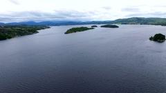 Norway. Sea, islands. Stock Footage