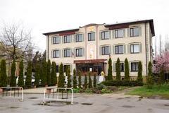 Building the Krasnoarmeyskiy District Court. Stock Photos