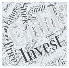 Stock Market How to Invest Gold word cloud concept Piirros