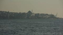 Istanbul in the Sun haze Stock Footage