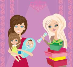 Gifts for children Stock Illustration