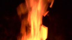 Fire tongue Stock Footage