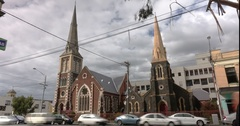 Coburg timelapse church Stock Footage