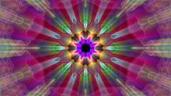 Burst Rays Complex Magic Psychedelic Kaleidoscope VJ Motion Background Loop 4 Arkistovideo