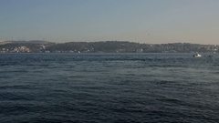 Bosphorus and Istanbul Stock Footage