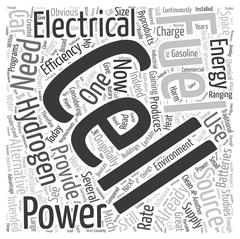 What are Hydrogen Fuel Cells word cloud concept Stock Illustration