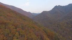 Aerial footage Smokey Mountains USA 4k Stock Footage