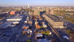 Morning in Jersey City 4k Stock Footage