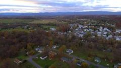 Shenandoah Virginia aerial video 4k Stock Footage
