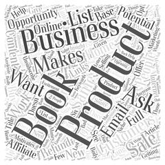 How To Get Potential Customers To Do Business With You word cloud concept Stock Illustration