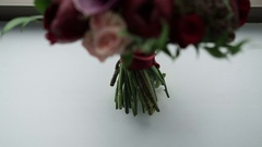 Wedding bouquet Stock Footage