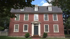 Derby House, Salem Maritime National Historic Site, Salem, MA. Stock Footage