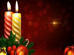 Merry Christmas Candles Wishes Kuvapankki erikoistehosteet