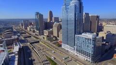 Stock aerial video Cincinnati Ohio USA Arkistovideo
