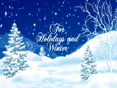 Winter SnowMan Promo Stock After Effects