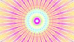 Colorful Burst Solar Kaleidoscope Mandala Fast VJ Motion Background Loop 2 Stock Footage
