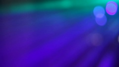 Changing bright blue, green, purple, red colors with flares Stock Footage
