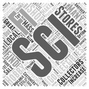 How to Find Sci Fi Collectibles Available For Sale word cloud concept Stock Illustration