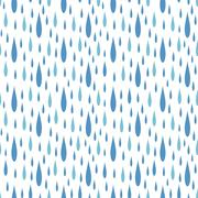 Rain drops seamless pattern vector Stock Illustration