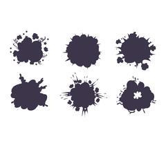 Boom explosion vector illustration Stock Illustration