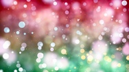 Multicolored lights with bokeh. Abstract loopable background. Stock Footage