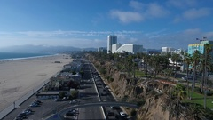 PCH Flyover Stock Footage