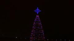 Ungraded: Christmas Decoration / Christmas Tree / New Year Eve Stock Footage
