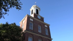 The Charles Street Meeting House, Black Heritage Trail, Boston, MA. Stock Footage