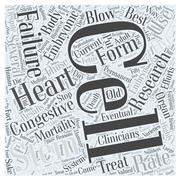 How Can Stem Cells Be Used to Treat Congestive Heart Failure word cloud concept Stock Illustration