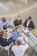 Business people in meeting Stock Photos