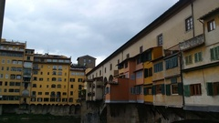 Bridge Ponte Vecchio Stock Footage