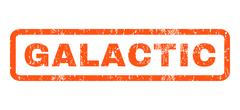 Galactic Rubber Stamp Stock Illustration