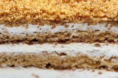 Flaky sweet pastry Stock Photos