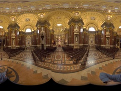 Bazilika church 360° video Stock Footage