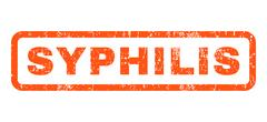 Syphilis Rubber Stamp Stock Illustration