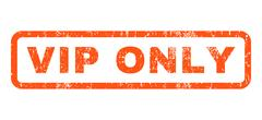 Vip Only Rubber Stamp Stock Illustration