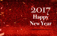 Happy new year 2017 at perspective red sparkling glitter Kuvituskuvat