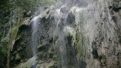 Tumalog Falls of Cebu island in the Philippines Stock Footage