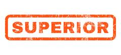 Superior Rubber Stamp Stock Illustration