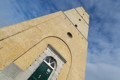 The Brandaris lighthouse on Terschelling Stock Photos