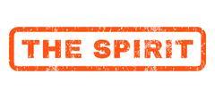 The Spirit Rubber Stamp Stock Illustration