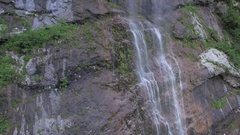Beautiful waterfall in Triglav Park Stock Footage