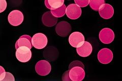 Background with Christmas lights with bokeh. Stock Photos